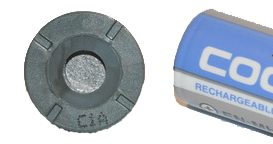 Rosahl dehumidifier membrane compared to AA battery